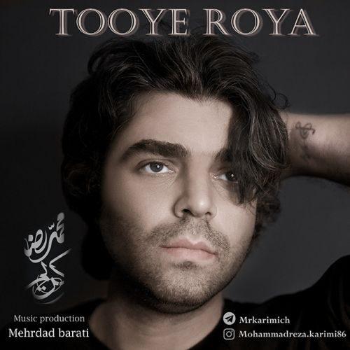دانلود موزیک جدید محمدرضا کریمی توی رویا